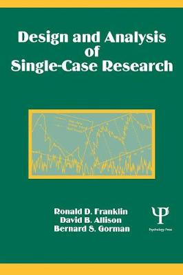 Design and Analysis of Single Case Research book