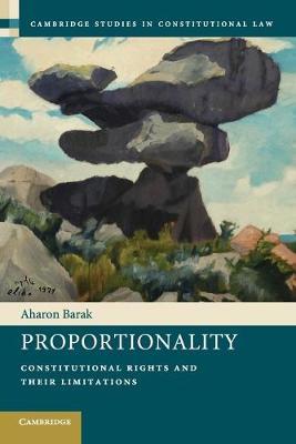 Proportionality by Aharon Barak