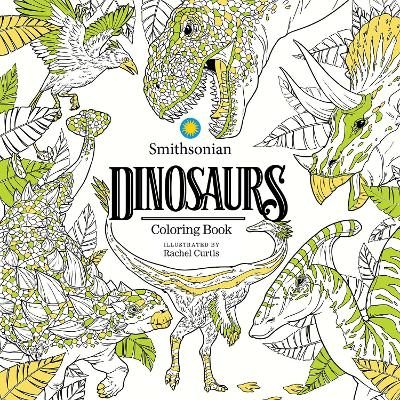 Dinosaurs: A Smithsonian Coloring Book book