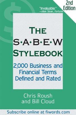 SABEW Stylebook by Chris Roush