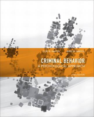 Criminal Behavior by Curt R. Bartol