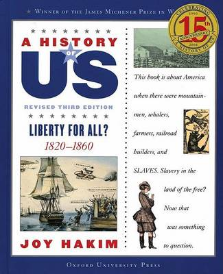 A History of US: Liberty for All?: A History of US Book Five by Joy Hakim
