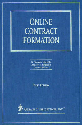 Online Contract Formation by Andrew Simpson