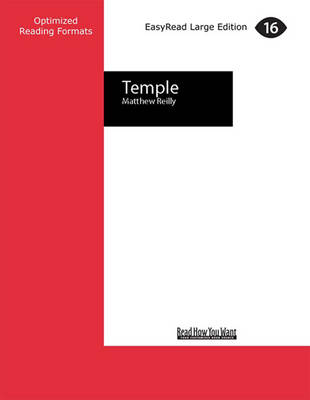 Temple (3 Volumes Set) by Matthew Reilly