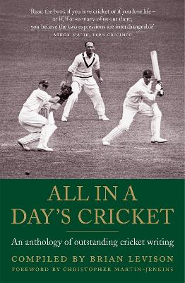 All in a Day's Cricket by Brian Levison