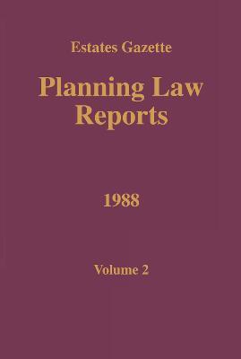 PLR 1988  Vol 2 by Barry Denyer-Green