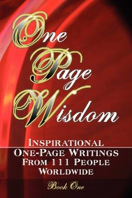 One Page Wisdom. Book 1 by New Age Directories