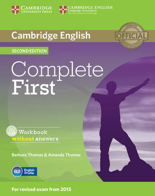 Complete: Complete First Workbook without Answers with Audio CD by Barbara Thomas