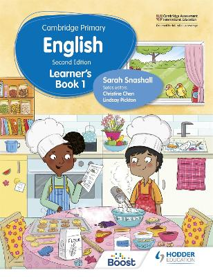 Cambridge Primary English Learner's Book 1 by Sarah Snashall