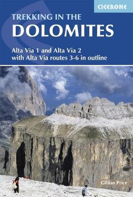 Trekking in the Dolomites by Gillian Price