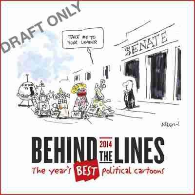 Behind the Lines book