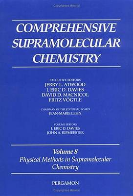 Physical Methods in Supramolecular Chemistry by J. D. Davies