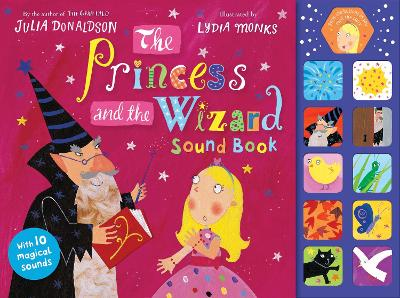 The Princess and the Wizard Sound Book by Julia Donaldson