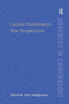 Capital Punishment by Peter Hodgkinson