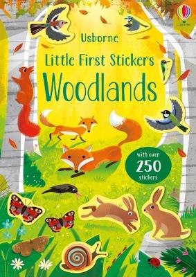 Little First Stickers Woodlands by Caroline Young