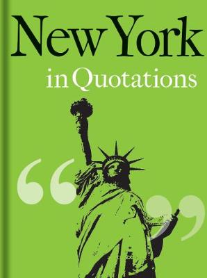 New York in Quotations by Jaqueline Mitchell