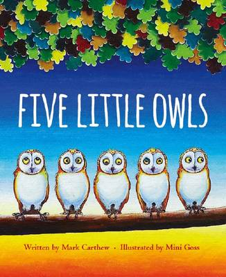 Five Little Owls by Mark Carthew