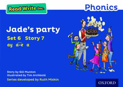Read Write Inc. Phonics: Blue Set 6 Storybook 7 Jade's Party book