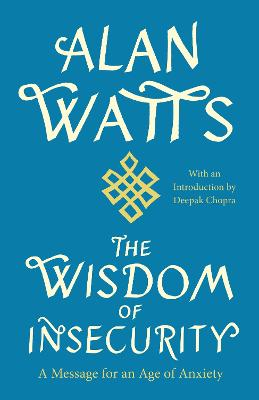 Wisdom of Insecurity book