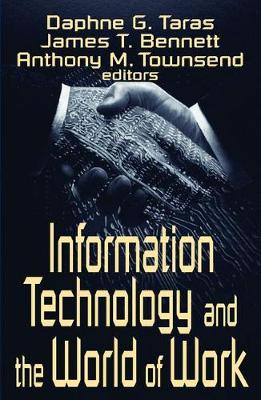 Information Technology and the World of Work book