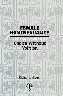 Female Homosexuality book