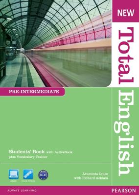 New Total English Pre-Intermediate Students' Book with Active Book Pack by Araminta Crace