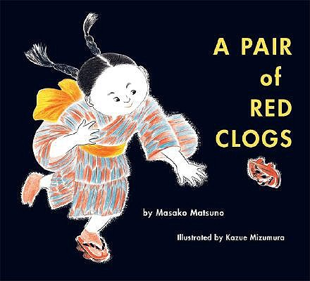 Pair of Red Clogs book