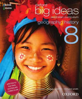 Oxford Big Ideas Geography/History 8 AC Student book + obook assess book