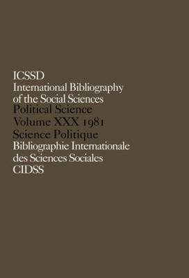 IBSS: Political Science by International Committee for Social Science Information and Documentation