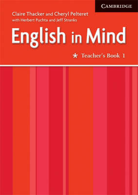 English in Mind 1 Teacher's Book Middle Eastern Edition by Claire Thacker