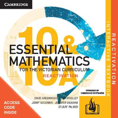Essential Mathematics for the Victorian Curriculum Year 10 Reactivation (Card) by David Greenwood