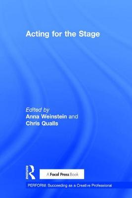 Acting for the Stage book