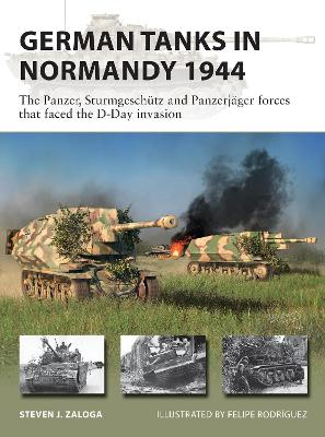 German Tanks in Normandy 1944: The Panzer, Sturmgeschutz and Panzerjager forces that faced the D-Day invasion book