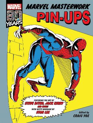 Marvel Masterworks Pin-ups by KIRBY, JACK