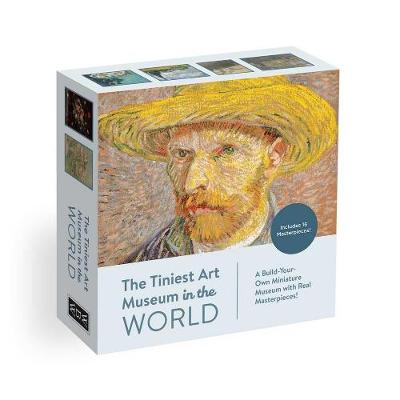 The Tiniest Art Museum in the World: Build-Your-Own Miniature Art Museum with Real Masterpieces! by Whalen Book Works