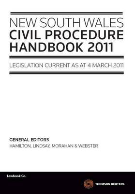 NSW Civil Procedure Handbook by