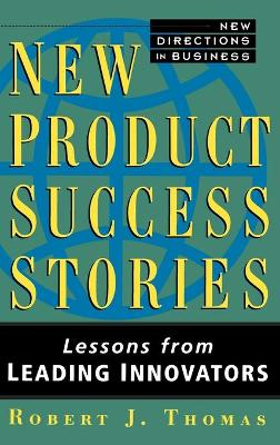 New Product Success Stories book