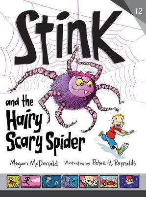 Stink and the Hairy, Scary Spider book