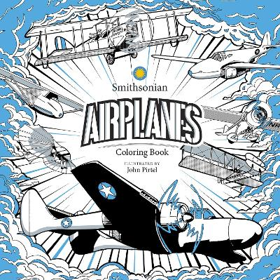 Airplanes: A Smithsonian Coloring Book book