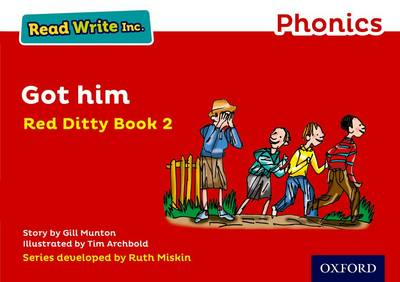 Read Write Inc. Phonics: Red Ditty Book 2 Got Him book