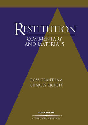 Restitution: Commentary and Materials by Ross Grantham
