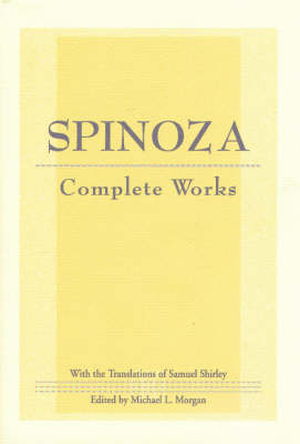 Spinoza: Complete Works book