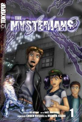 Mysterians Manga by Michael Uslan