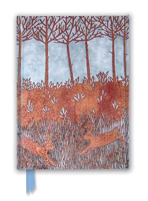 Janine Partington: Copper Foil Spring Rabbits (Foiled Journal) by Flame Tree Studio