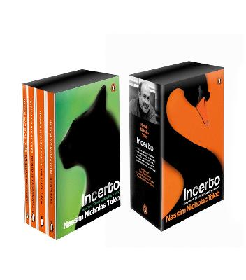 Incerto Box Set: Antifragile, The Black Swan, Fooled by Randomness, The Bed of Procrustes by Nassim Nicholas Taleb
