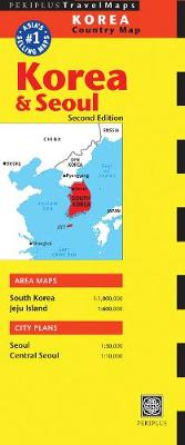 Korea & Seoul Country Map: Korea & Seoul Country Map by Periplus Editions