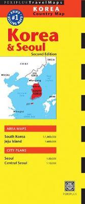 Korea & Seoul Travel Map Second Edition by Periplus Editors