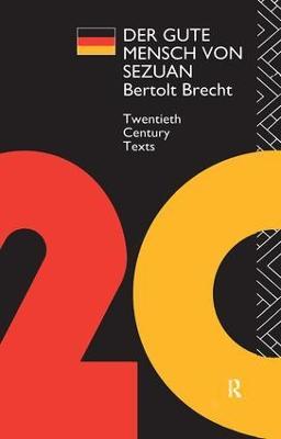 Der Der Gute Mensch von Sezuan by Bertolt Brecht