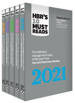 5 Years of Must Reads from HBR: 2021 Edition (5 Books): (5 Books) by Harvard Business Review