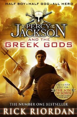 Percy Jackson and the Greek Gods by Rick Riordan